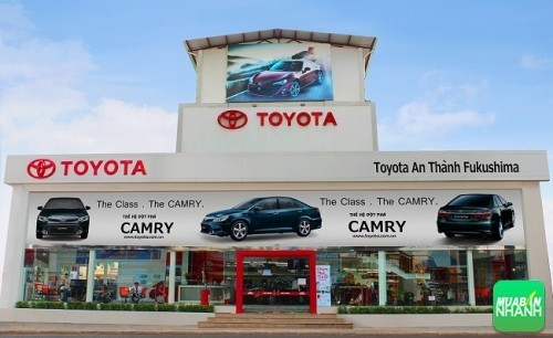 Đại lý Toyota An Thành Fukushima quận 5 Hồ Chí Minh