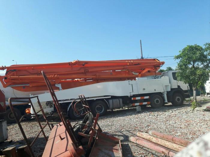 Tìm hiểu xe bơm bê tông tự hành cần 56M ZOOMLION - Cafi(1)