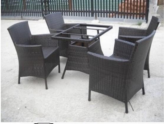 Các bộ bàn ghế giả mây giá rẻ(3)