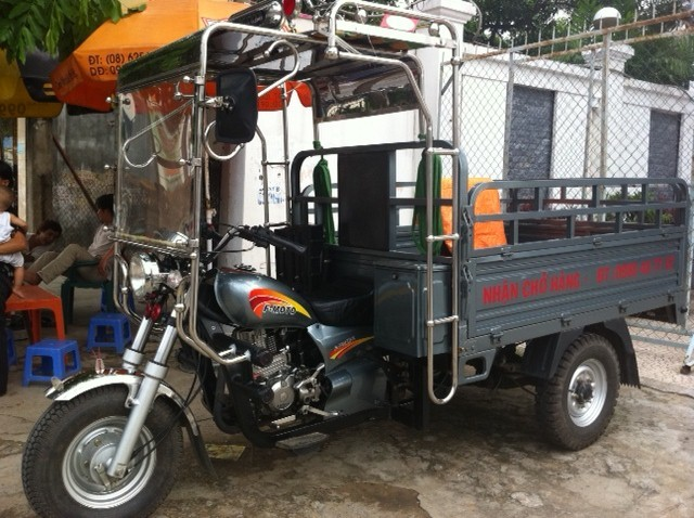 Những điều cần chú ý khi chạy xe ba bánh vào trời nắng, khí hậu nóng(2)