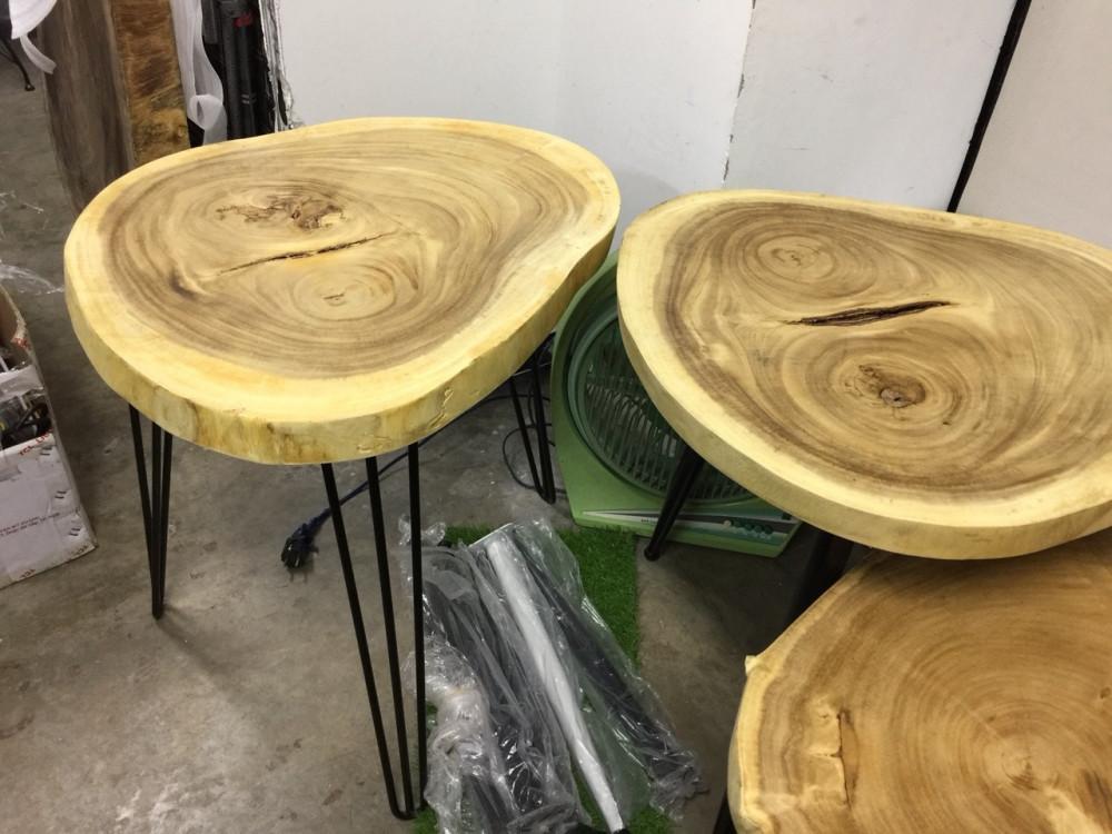 Ưu điểm của mặt bàn gỗ nguyên tấm làm từ gỗ tự nhiên(3)