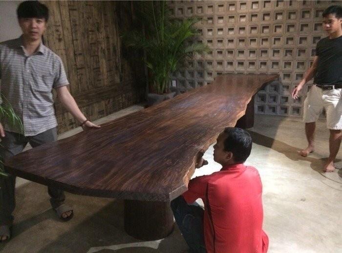 mẫu mặt bàn gỗ nguyên tấm đẹp(1)