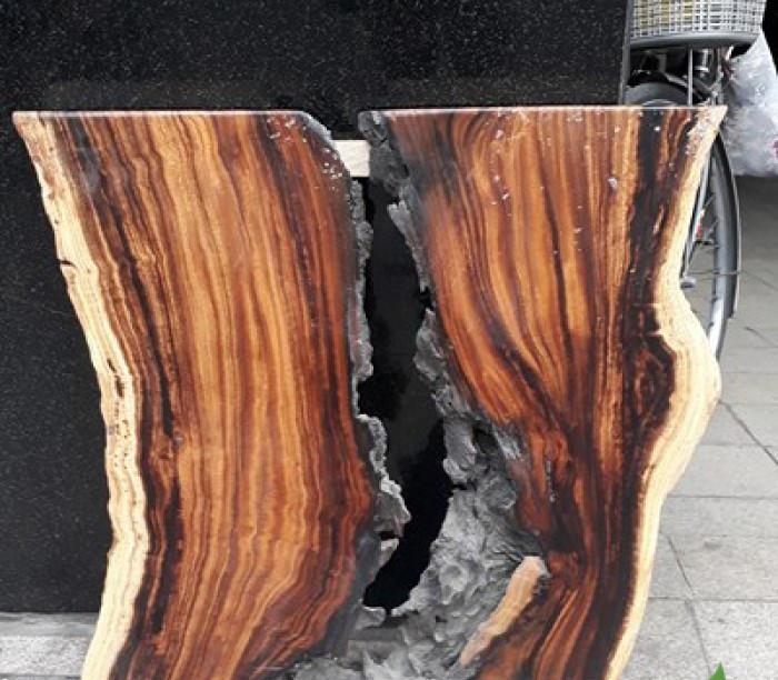 Ưu điểm của mặt bàn gỗ nguyên tấm làm từ gỗ me tây ( gỗ còng)(1)