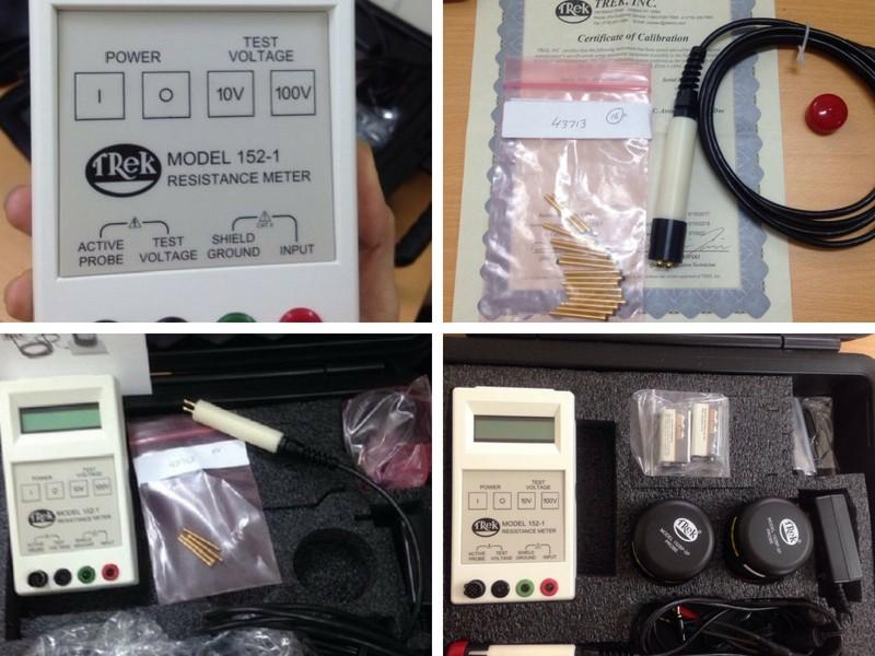 Đánh giá máy đo điện trở bề mặt Trek-152-1-CE