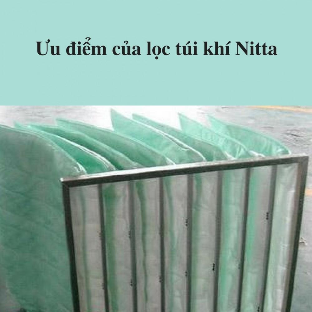Ưu điểm của lọc túi khí Nitta