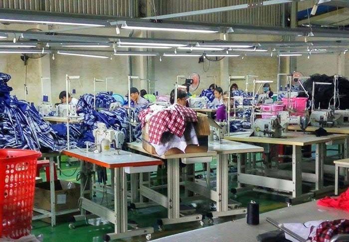 Xưởng may gia công hàng thiết kế