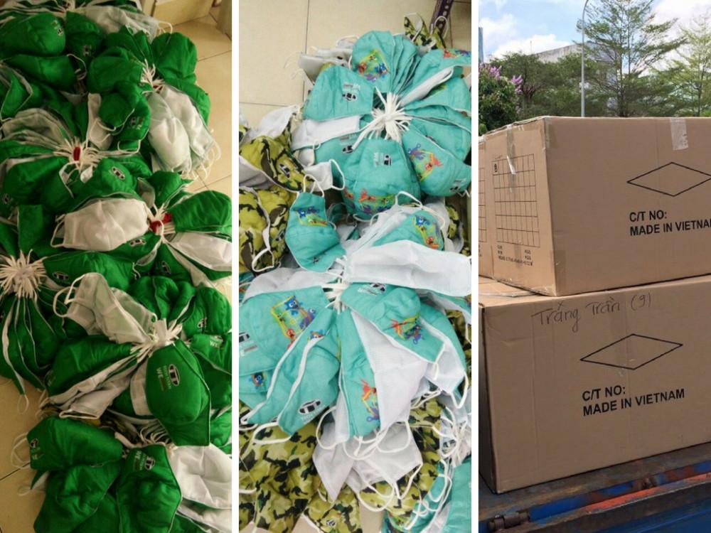 Nhận may gia công khẩu trang giá rẻ - vận chuyển hàng may tận nơi - gọi ngay cho May gia công Trang Trần nhé!