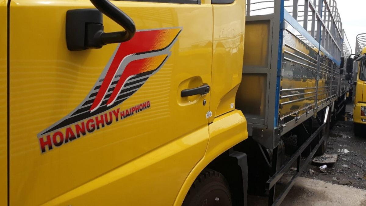 Xe tải thùng Dongfeng B170 Hoàng Huy