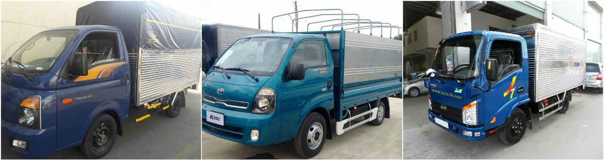 Dưới 400 triệu nên mua xe tải 1.5 tấn loại nào?