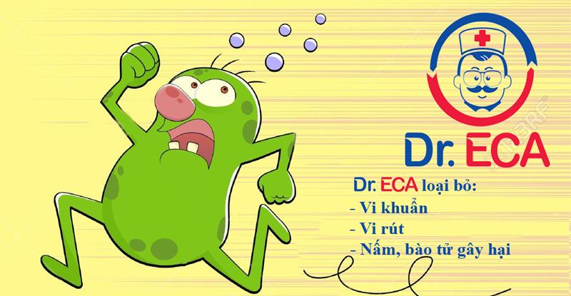 Tác dụng của dung dịch khử trùng DrECA