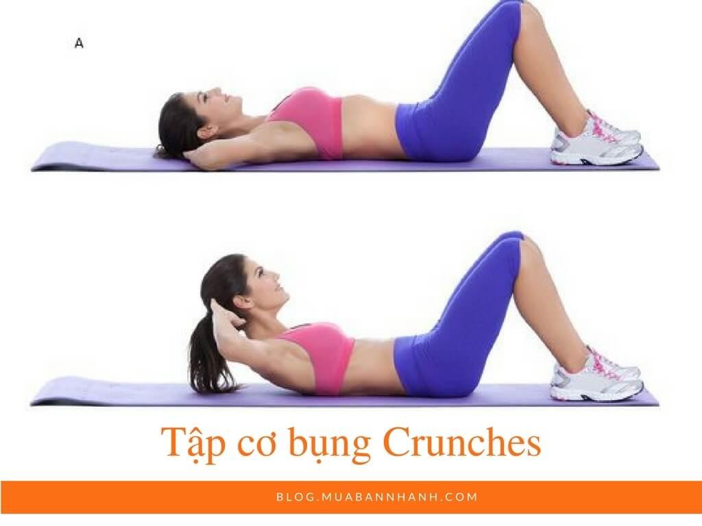 Tập cơ bụng Crunches