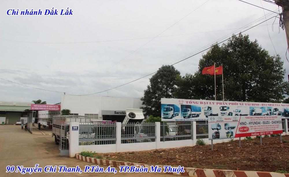 Công ty Ô Tô Tây Nguyên phân phối xe tải nhập khẩu, xe tải lắp ráp, các loại xe tải, xe chuyên dùng Hino, Isuzu, Hyundai