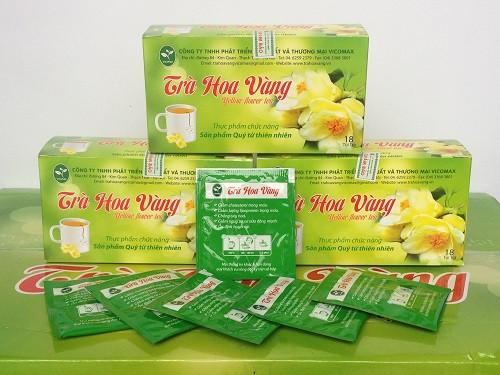 Đặc điểm giống cây trà hoa vàng(1)