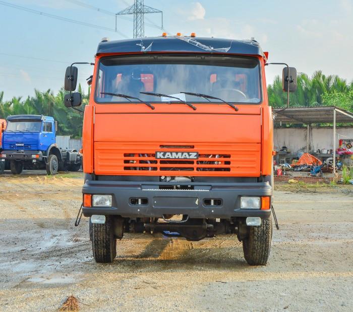 Báo giá xe ben Kamaz 3 cầu 65111