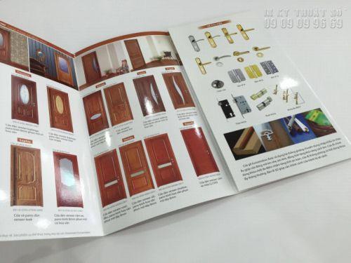 Ấn phẩm in brochure giá rẻ tại TPHCM - thực hiện bởi In Kỹ Thuật Số