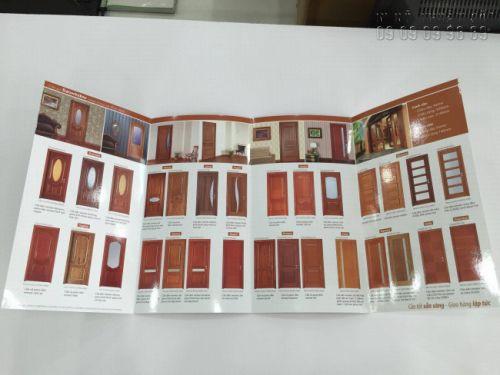 Hình ảnh về ấn phẩm inbrochure sản phẩm cửa gỗ (1)
