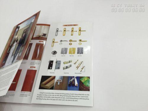 Hình ảnh về ấn phẩm inbrochure sản phẩm cửa gỗ (3)