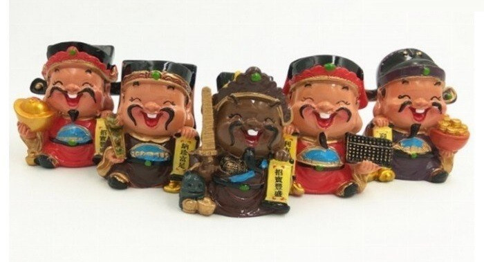 [Tượng thần tài phong thủy] Bộ tượng 5 ông thần tài Chibi đem lại may mắn và niềm vui mỗi ngày
