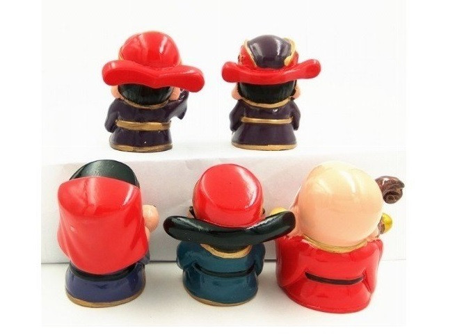 [Tượng thần tài phong thủy] Bộ tượng 5 ông thần tài Chibi đem lại may mắn và niềm vui mỗi ngày(6)