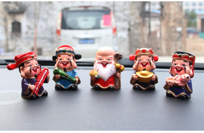 [Tượng thần tài phong thủy] Bộ tượng 5 ông thần tài Chibi đem lại may mắn và niềm vui mỗi ngày(1)