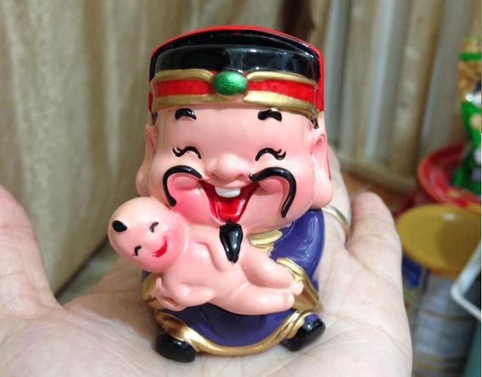 [Tượng thần tài phong thủy] Bộ tượng 5 ông thần tài Chibi đem lại may mắn và niềm vui mỗi ngày(12)