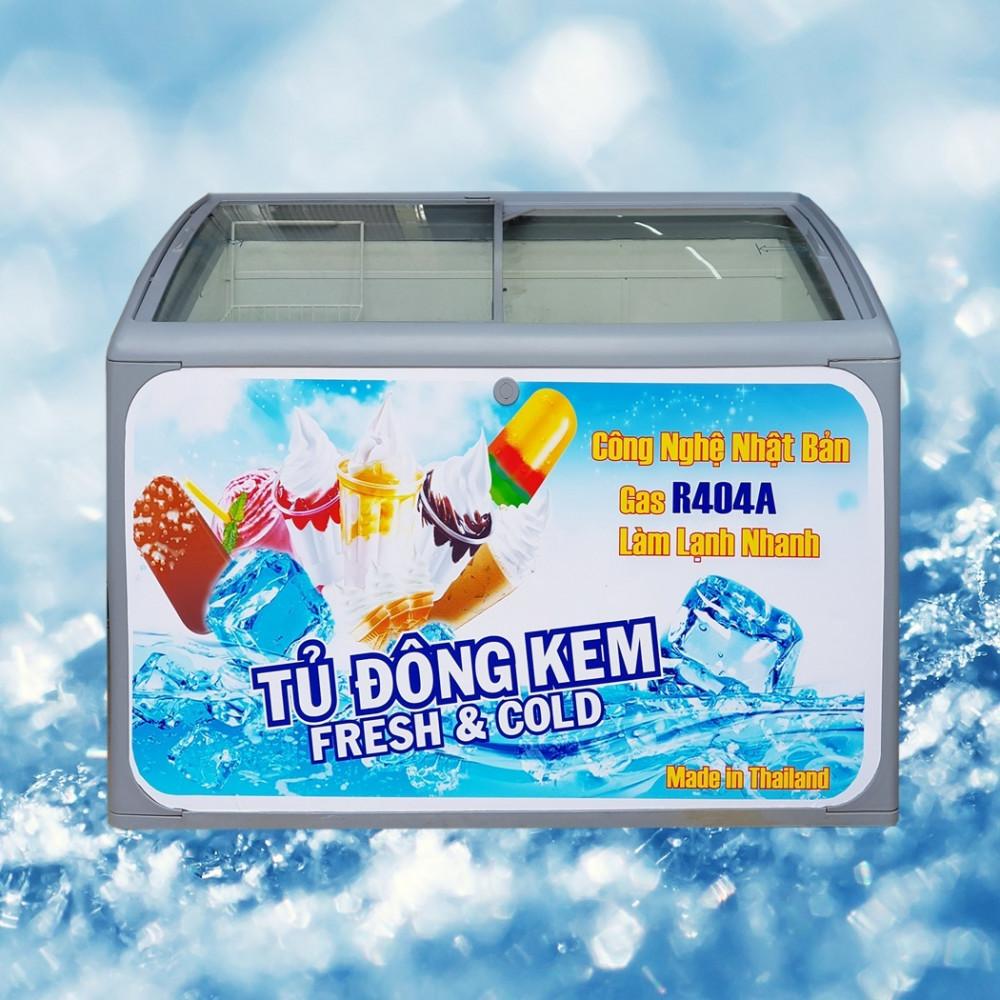 Tủ đông thực phẩm Thái Lan 300 lít giá rẻ, bảo hành uy tín tại HCM
