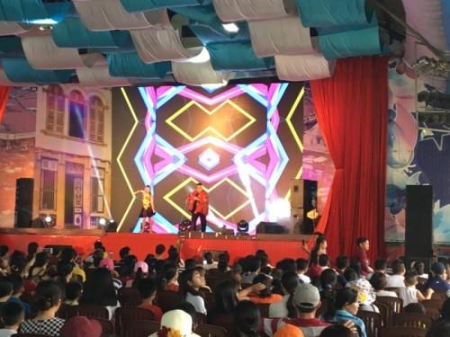 Đơn vị cho thuê màn hình Led P4 outdoor M1 Lễ trao giải Cuộc thi ảnh Gia đình yêu thương tại Công viên Văn hóa Đầm Sen