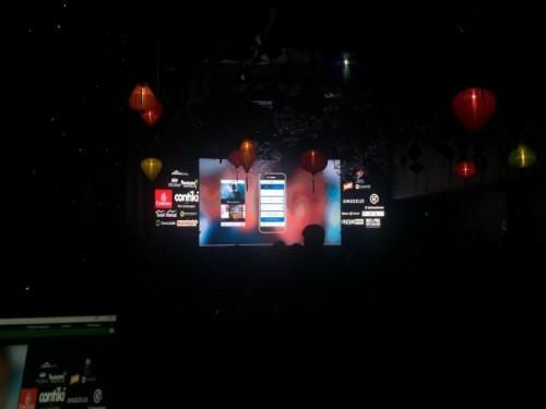 Cho thuê màn hình Led P4 - màn hình Led sân khấu sự kiện tại khách sạn Sofitel
