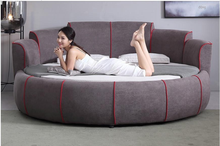 10 mẫu phòng ngủ sang trọng với chiếc giường tròn cao cấp, giá rẻ TPHCM(2)