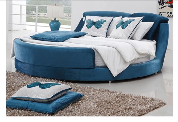 10 mẫu phòng ngủ sang trọng với chiếc giường tròn cao cấp, giá rẻ TPHCM(4)
