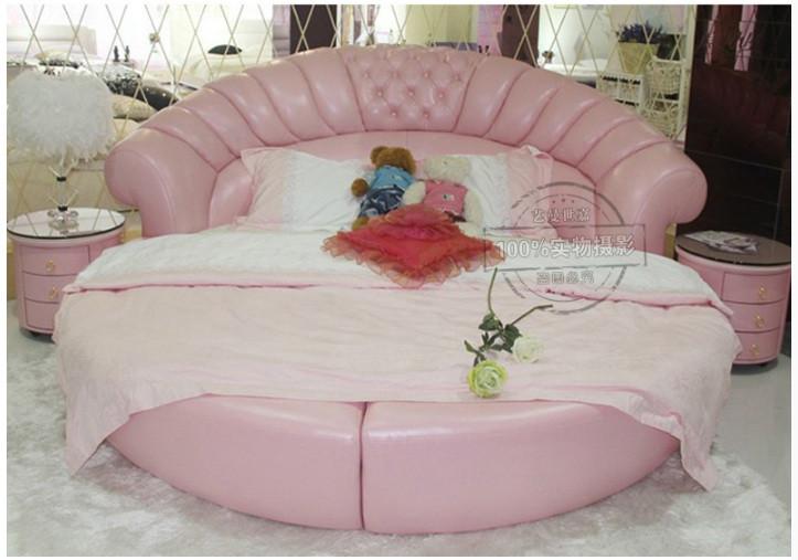 10 mẫu phòng ngủ sang trọng với chiếc giường tròn cao cấp, giá rẻ TPHCM(8)