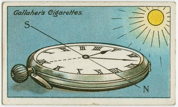 Cách xác định phương hướng bằng chiếc đồng hồ