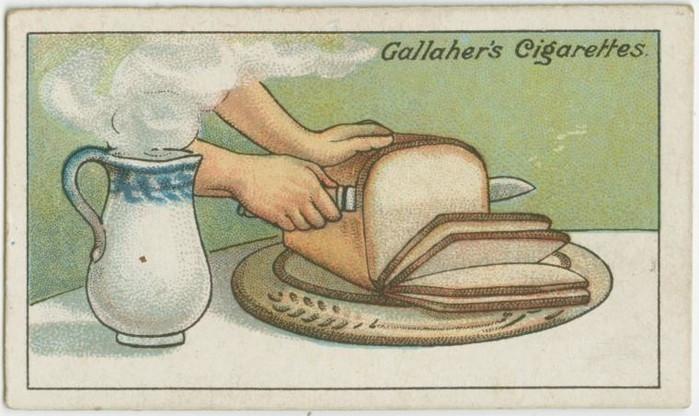 Cách cắt bánh mì thành những lát mỏng mà không bị vỡ vụn