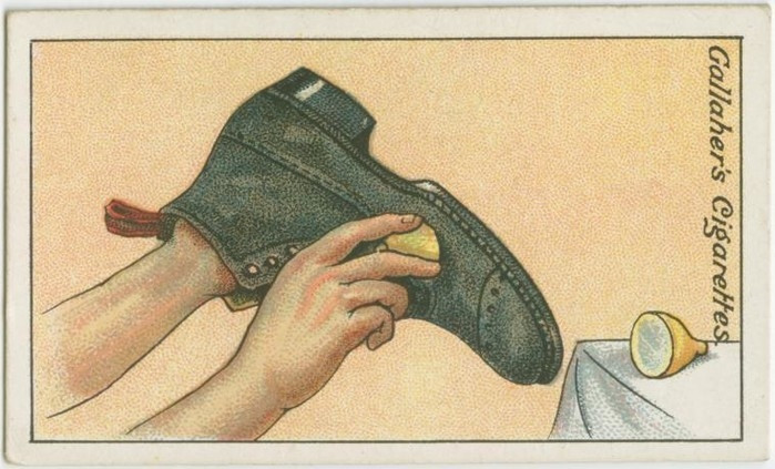 Cách đánh bóng giày mới
