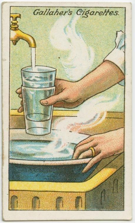 Cách tách 2 chiếc cốc ra khi chúng dính chặt vào nhau