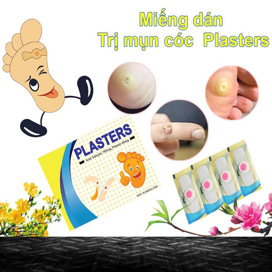 miếng dán trị mụn cóc plasters là cách trị mụn cóc hiệu quả nhất hiênj nay