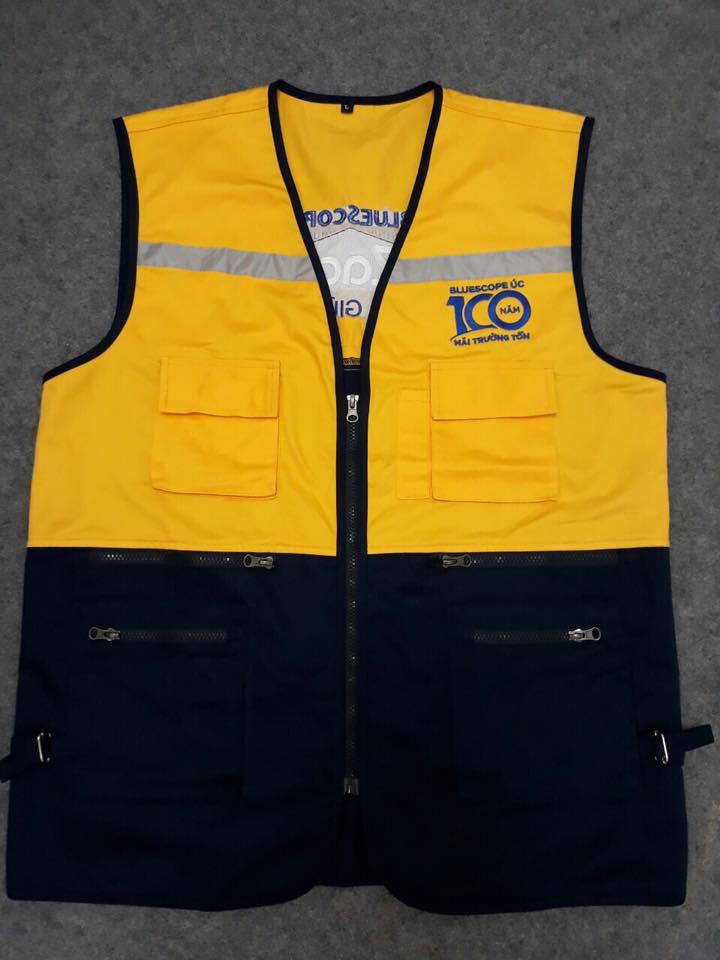 May áo khoác gió đồng phục chuẩn hàng xuất khẩu - mẫu mã đẹp, đường may gọn gàng, sắc nét
