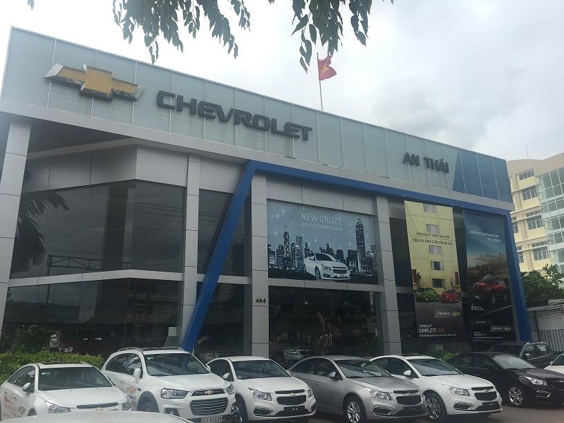 Chevrolet An Thái - Luôn đồng hành cùng bạn dù ở nơi đâu