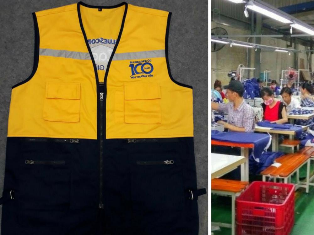Xưởng sản xuất, gia công áo khoác giá rẻ tại TPHCM