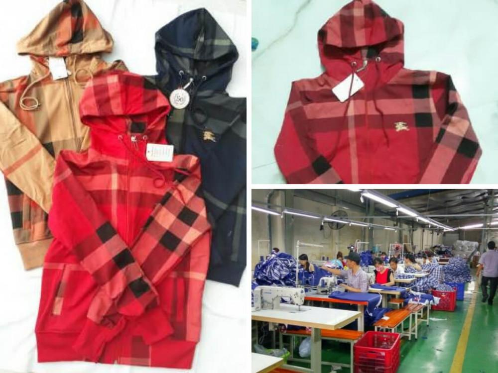 Xưởng may áo khoác chống nắng - chuyên sỉ áo khoác chống nắng giá rẻ tại TPHCM
