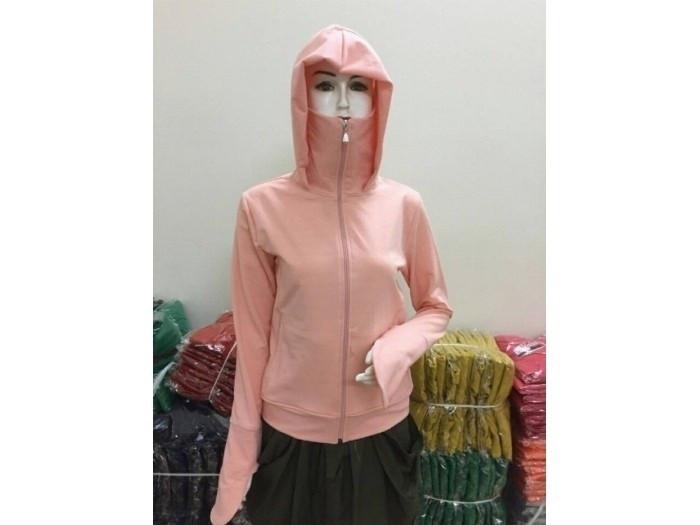 Mẫu áo khoác chống nắng kèm khẩu trang - nguồn hàng sỉ áo khoác chống nắng từ xưởng