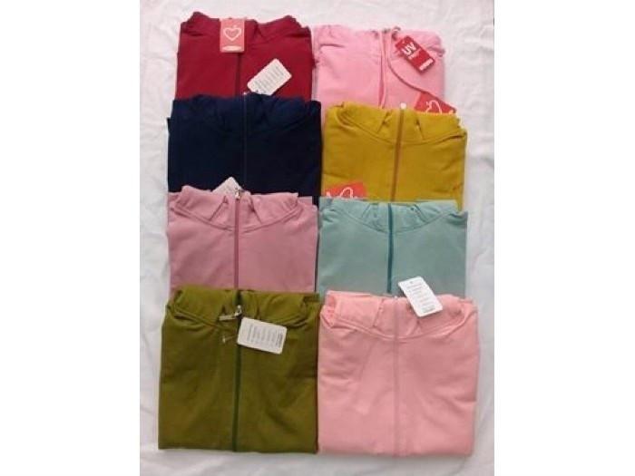 Mẫu áo khoác chống nắng cotton đa dạng màu sắc - nguồn hàng bỏ sỉ áo khoác chống nắng tại TPHCM