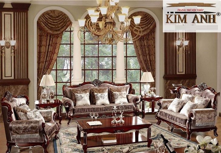 Giá sofa cổ điển phong cách Châu Âu tại TPHCM bao nhiêu?