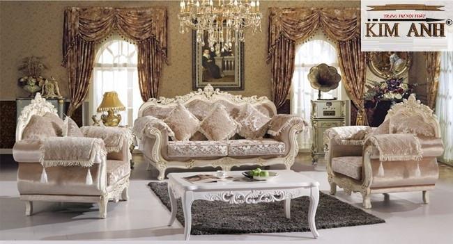 Những mẫu sofa đẹp phong cách cổ điển Châu Âu được ưa chuộng nhất hiện nay(1)