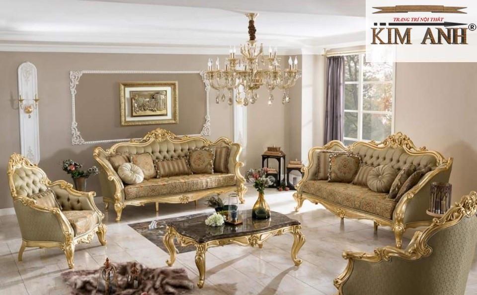 Những mẫu sofa đẹp phong cách cổ điển Châu Âu được ưa chuộng nhất hiện nay(2)