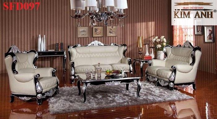 Những mẫu sofa đẹp phong cách cổ điển Châu Âu được ưa chuộng nhất hiện nay(4)