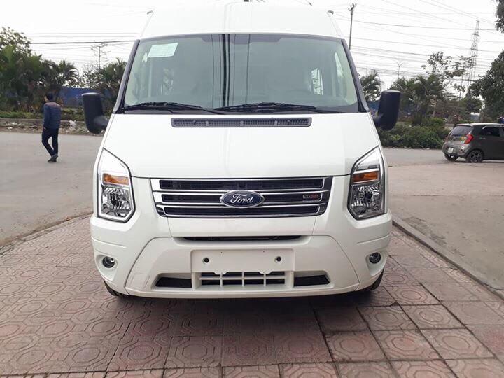 Đánh giá Ford Transit 2018 về ưu nhược điểm