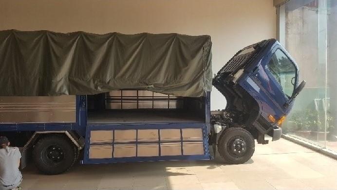Ưu điểm của xe tảiHyundai HD700 Đồng Vàng(1)