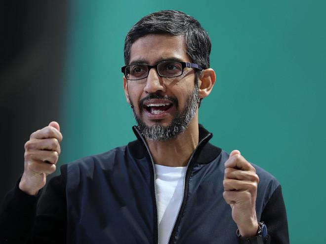 CEO của Google, ông Sundar Pichai