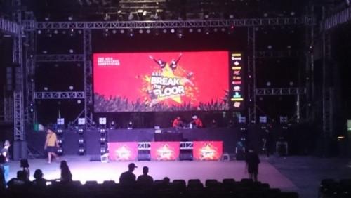 Cho thuê màn hình Led P2 chương trình Asia Break Dance tại Sân khấu Lan Anh